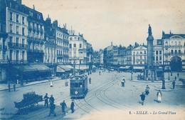 Lille Michalis 1 La Grand Place 1922 Rare TBE - Lille