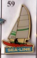 X59 Pin's Bateau Voilier SEA LINE Voilier SEALINE Achat Immédiat - Barcos