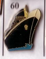 X60 Pin's Bateau Voilier PAQUEBOT Achat Immédiat - Barcos
