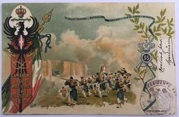 V 60003 - 35° Reggimento Fanteria - Campagne 1860-61 Messina 1866 Belvedere 1870 - La Breccia Di Porta Pia - Regimente
