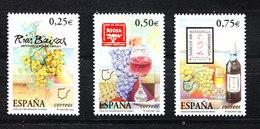 Spagna - 2002. Uve E Vini Spagnoli. Spanish Grapes And Wines. MNH Complete Series - Alimentazione