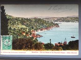 Bosphore-Vue De Bebek Et De Roumeli-Hissar - Turkije