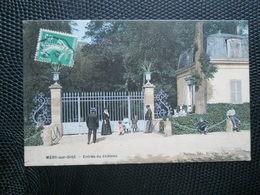 Méry Sur Oise ,entrée Du Chateau ,couleur - Mery Sur Oise