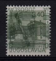 23. Yugoslavia 1977 3.40D Vranje Double Tete-beche Print Variety  MNH - 1945-1992 Sozialistische Föderative Republik Jugoslawien