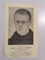 (P1)  Décès :   Prieur Dom Jules Harmel Prisonnier Politique Abattu Par Un Ss à Magdebourg. - Décès
