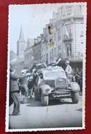 Luxembourg  Dudelange 1944 . ( Fotokarte , Klebespuren Auf Der Rückseite ) - Dudelange