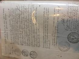 POITIERS 1816 Promesse De Mariage Gilliard Et Lafontaine.. - Fiançailles