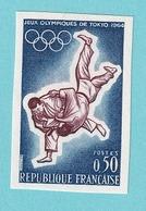 1964, YT No.1428, Imperf, MNH - France