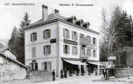 (Doubs) CPA  Saint Hippolyte  Maison T. Groslambert - Saint Hippolyte
