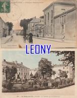 2  CPA De LA ROCHE SUR YON   (85) -  L' HOPITAL DEPARTEMENTAL - JARDINS De La PREFECTURE N° 501 - La Roche Sur Yon