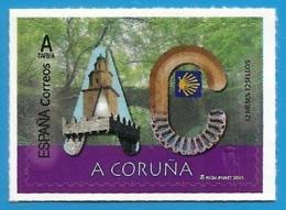 España. Spain. 2020. 12 Meses, 12 Sellos. A Coruña - 1931-Hoy: 2ª República - ... Juan Carlos I