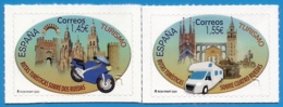 España. Spain. 2020. Turismo. Rutas Turísticas Sobre Dos Y Cuatro Ruedas. Moto. Autocaravana - 1931-Aujourd'hui: II. République - ....Juan Carlos I