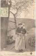 Dépt 15 - PIERREFORT - Type De Pierrefort - Une Fileuse - (Cliché Oradour - Delrieu J. Pierrefort, N° 371) - Altri Comuni