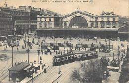 75 PARIS  LA GARE DE LEST TRAMWAY - Ausstellungen