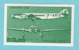 1987, YT No.PA 60, Imperf, MNH - France