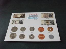 MONETE E CARTA MONETA GIAPPONESE JAPANESE CURRENCY YEN MONEDA MONNAIE - Münzen (Abb.)