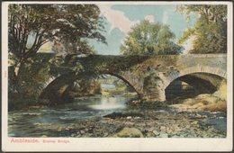 Brathay Bridge, Ambleside, Westmorland, C.1905 - Peacock Postcard - Cumberland/ Westmorland