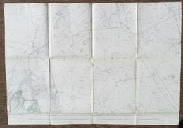 STAFKAART MAARLE Ravels Ed. 1909 TILBURG EINDHOVEN GOORLE HILVARENBEEK SINT-OEDENRODE LOON-OP-ZAND BOXTEL SCHIJNDEL S220 - Topographische Kaarten