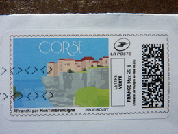 2019  MontTimbrenligne  Lettre Verte CORSE - Used Stamps