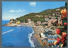 °°° Cartolina - Recco La Spiaggia Viaggiata °°° - Genova (Genoa)