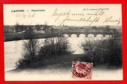Lacuise ( Lacuisine - Florenville). Panorama. Pont Sur La Semois. 1906 - Florenville