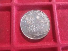 PORTOGALLO 200 ESCUDOS 1991 - Portogallo