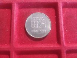 PORTOGALLO 25 Escudos 1980 - Portogallo