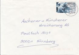 84561- DIETRICH BONHOEFFER, PASTOR, STAMPS ON COVER, 1995, GERMANY - Storia Postale