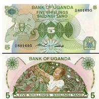 Billet Ouganda 5 Shiling - Ouganda