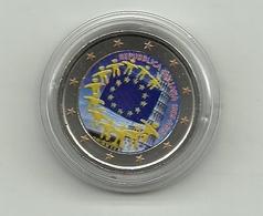 2015 - Italia 2 Euro Bandiera - Colorato - Italia