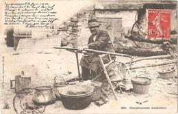 Dépt 15 - Chaudronnier Ambulant - (postée à MURAT, à Destination De MASSIAC) - N° 290 - Petit Métier - HAUT CANTAL - France