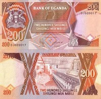 Billet Ouganda 200 Shiling - Ouganda