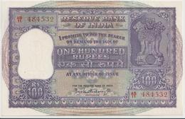 INDIA P.  45 100 R 1962 UNC - India
