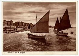 CATTOLICA - VELE E SPIAGGIA - RIMINI - 1947 - Rimini