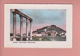Riez.04.Alpes-de-Haute-Provence.  Ex . Basses-Alpes.      Vestiges Romains . . - Other Municipalities
