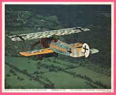 Photo Avion - Aviation - HOWARD LEVY - From The Living Museum Of Old Aeroplanes - FOKKER D VII - Old Rhinebeck - Aviazione