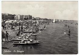 CATTOLICA - LA SPIAGGIA - RIMINI - 1959 - Rimini
