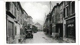 Saône Et Loire MARCIGNY Rue Chevallière (Voiture, Magasin Chabanaud) - Autres Communes