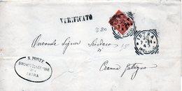 CG4 - Italia - Lettera Da Intra 30/4/1875 Per Cranna Gattugno - Italia