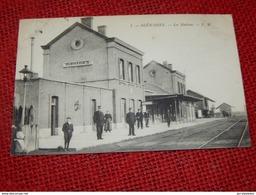 BLEHARIES  -  La Station  - La Gare - Brunehaut