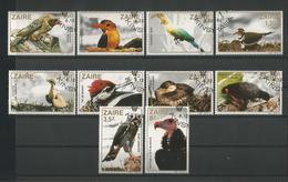 Zaire 1982 Birds  Y.T. 1110/1119 (0) - Zambie (1965-...)