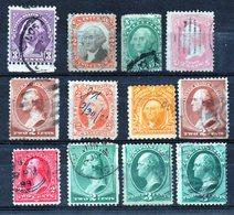 Etats- Unis Washington Divers   Oblitéré - 1847-99 Unionsausgaben
