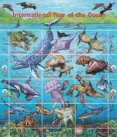 UNO-New York, 1998,  771/82  MNH **,  Internationales Jahr Des Ozeans. - New York – UN Headquarters