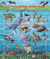 UNO-New York, 1998,  771/82  MNH **,  Internationales Jahr Des Ozeans. - New-York - Siège De L'ONU