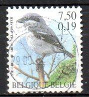 BELGIQUE. N°2981 Oblitéré De 2000. Pie Grièche. - Songbirds & Tree Dwellers