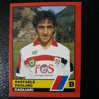 Figurina Calciatori D'Italia Vallardi 1989-90 1990 Paolino Cagliari Numero 431 - Altri