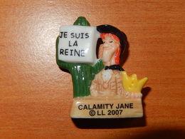 Fève -  LUCKY LUKE 2007 - CALAMITY JANE - Comics
