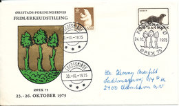 Greenland Denmark Cover Egedesminde 30-10-1975 And Copenhagen 24-10-1975 (Öpex 75 Exhibition) - Greenland