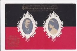 CP ALLEMAGNE   Drapeau Portrait - Koninklijke Families