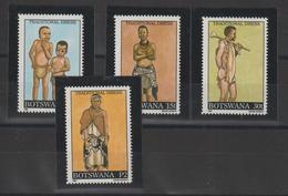 Bostwana 1990 Costumes 626-29 4 Val ** MNH - Botswana (1966-...)